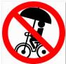 自転車で傘をさすのは違反?さすべえは?警察に注意された悲惨な雨の日体験